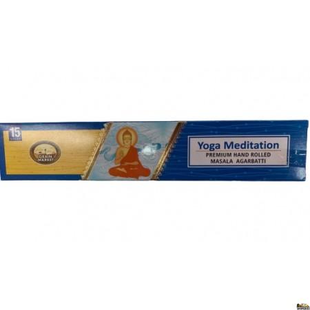 GM Yoga Meditation Incense Sticks - 1 Small Box