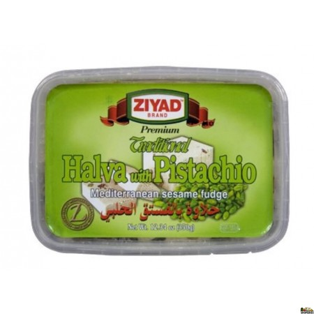 Ziyad Halva with Pistachio, 12.34 Oz