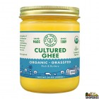 Milkio Cultured Organic Grass-fed-ghee - 16.8 Oz