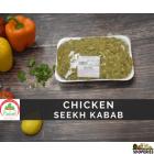 Marinated Seekh Chicken Kabab