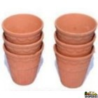 Clay Glass - 6 Pcs Set