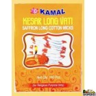 Kamal Kesar Long Wick In Box Packing - 100 Pcs