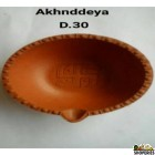 Clay Diya No 2 (6 Pcs)