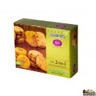 Karachi Bakery 2-in-1 Fruit Pista Almond Biscuits - 400 Gm