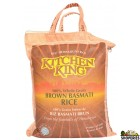 Kitchen King Brown Basmati Rice - 10 Lb