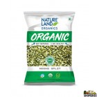 Nature Land Organic Green Moong Split - 2 Lb