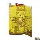 Zeeba Super Basmati Rice - 20 Lb