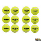 Nivia ARCL stamped hard yellow tennis balls - (2 boxes)