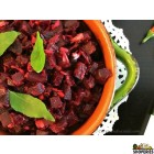 {{vegan}} Adyar Kitchen Beets Poriyal - 24 Oz {{spicy}}