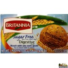 BRITANNIA SUGAR FREE DIGESTIVE BISCUIT - 7 Oz