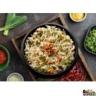 Hyderabadi Burnt Garlic Rice