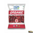 Nature land Organic Red Chilli Whole - 1 lb
