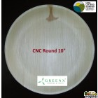 GREENX 10Inch Deep Round Plate - (25 Plated)