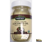 Crescent Organic NON -GMO Coconut oil - 16 Oz