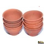 Clay Cup - 6 Pcs Set