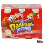 Danimals strawberry smoothie yogurt drink
