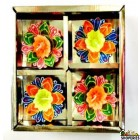 DECO ITC DIYA BOX With Wax - (4 PCS)