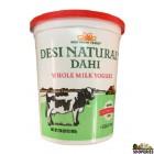 Desi Natural Dahi Whole Milk Yogurt - 2 Lb