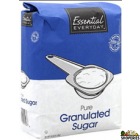 Everyday Essential pure granulated cane Sugar - 10 lb
