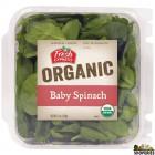 FE USDA Organic Baby Spinach - 5 Oz