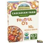 Cascadian Farm Organic Cereal, Fruitful O's