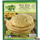 Garvi Gujrati Whole Wheat Fulka Roti Value Pack - 750g  (Frozen)