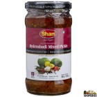Shan Hydrabadi Mixed Vegetable Pickle - 320g