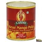 Laxmi Kesar Mango Pulp - 850 g