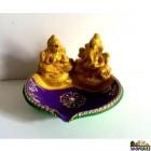Laxmi Ganesh Bowl Diya