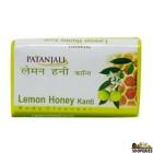 Patanjali Lemon Honey (Kanti) Soap  - 125g
