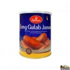 Haldirams Long Gulab Jamun tin - 1 kg