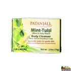 Patanjali Mint Tulsi Body Cleanser - 75gms (4 Count)