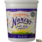 Organic Nancy Plain Whole Milk Yogurt - 4 lb