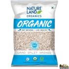 Nature land organic Urad Split Washed/ Urad Dal - 2 lb