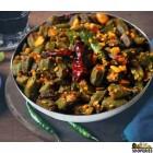Chutneys Okra Nut Fry {{veg}}{{spicy}} - 24 Oz