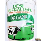 Organic Desi Natural Dahi Whole Milk Yogurt - 32 oz