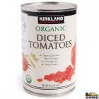 Organic Diced Tomato - 1 tin
