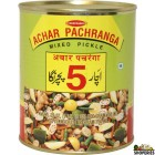 Pachranga Mixed Pickle - Tin  800 gm