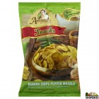Ammas Kitchen Banana Chips Pepper Masala - 200 gm