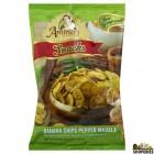 Ammas Kitchen Banana Chips Pepper Masala - 7 oz