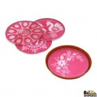 Mixed Rangoli Stencils 4 Inch - 1 Count