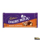 Cadbury Roasted Almond Chocolate bar - 3.5 Oz
