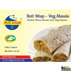 Daily Delight Roti Wrap - Veg Masala - 16 Oz
