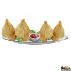 Chutneys Freshly Made Samosa - 4 Count