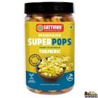 Sattviko Waterlili (phool Makhana) Superpops - Turmeric - 65 Gms