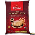 Royal 100% Sharbati Atta - 20 lb
