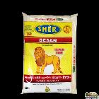 Brar Sher Besan Flour - 8 lb