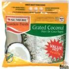 SUMERU Frozen Garden Fresh Grated Coconut (Value Pack) - 908 Gms