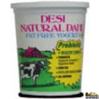 Desi Natural Dahi Non Fat Yogurt - 2 lb