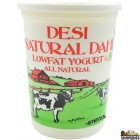 Desi Natural Dahi Low fat Yogurt - 5 lb